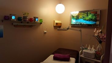 created beautiful treatment room