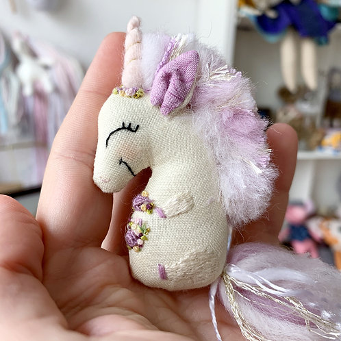 CUSTOM Baby Unicorn Ornament