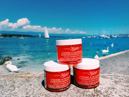 Join My International GIVEAWAY Of 3 Kiehl's Turmeric & Cranberry Radiance Masks #ItWorks