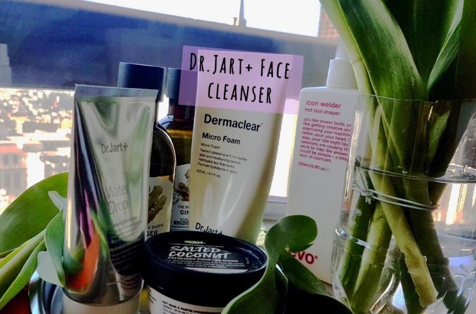 Dr. Jart+ Dermaclear Micro Foam: A Gentle & Efficient Facial Cleanser