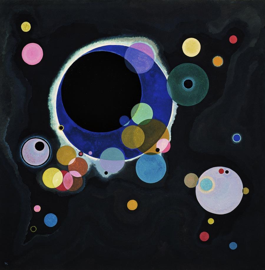 Several Circles-1926-Kandinsky