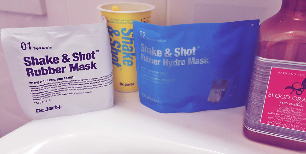 Dr. Jart Shake and Shot Rubber Hydro Mask