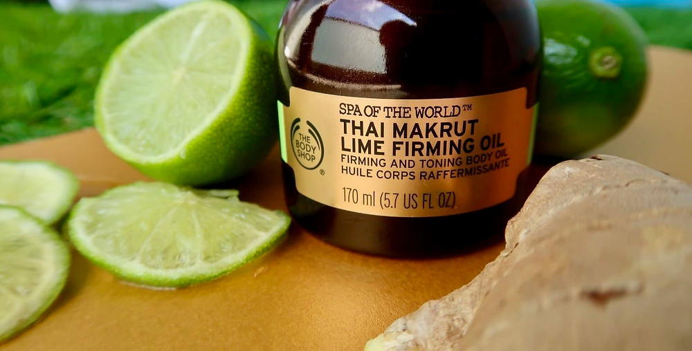 hai Makrut Lime Firming Oil, SPA OF THE WORLD by The Body Shop Review Kirasha
