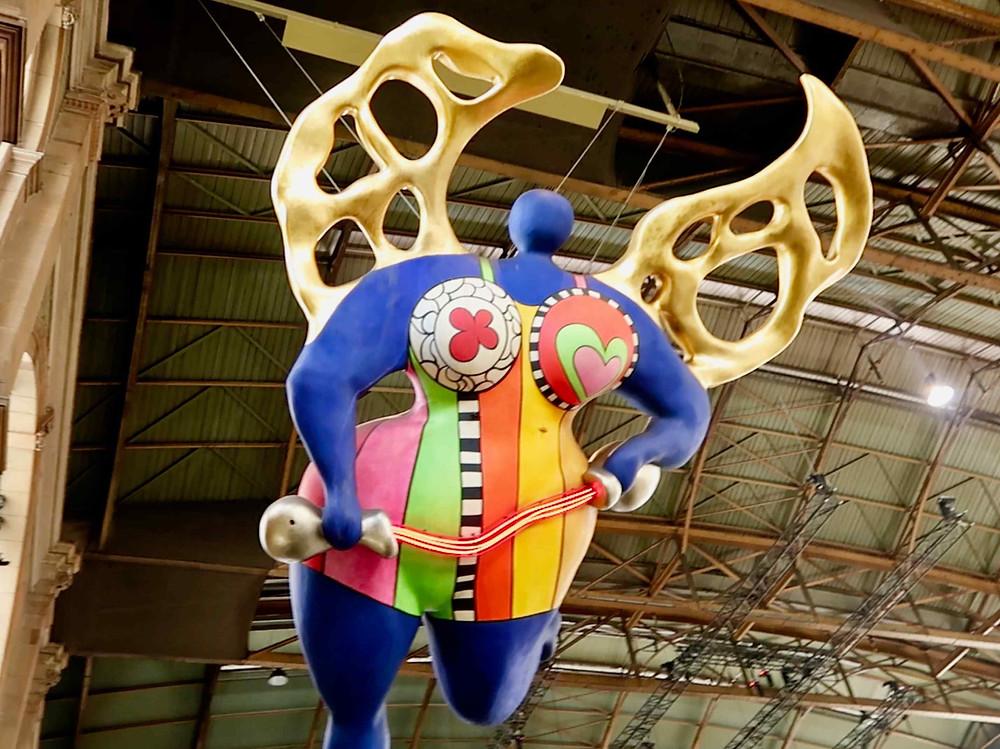 Guardian Angel by Niki de St. Phalle, 1997
