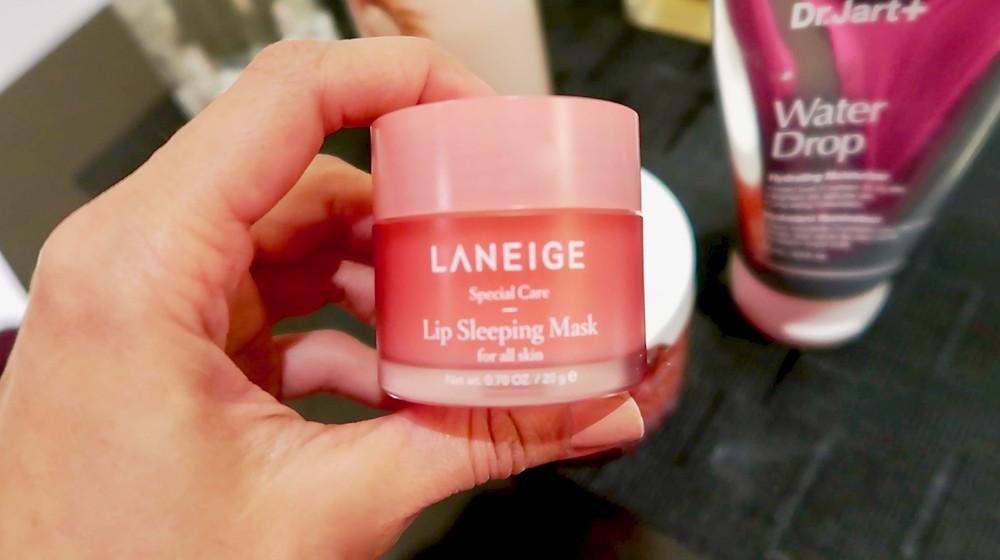 La Neige Lip Sleeping Mask, Non Sticky Lip Mask, Non Sticky Lip Balm, Best Lip Treatment, Overnight lip treatment, Kirasha