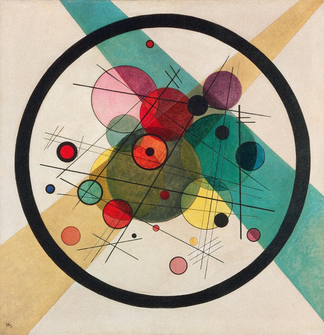 Circles in a Circle-1923-Kandinsky
