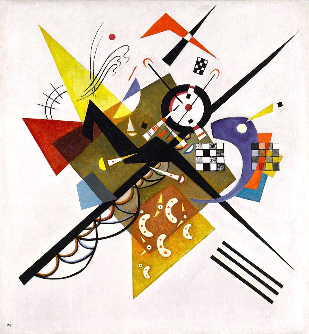 on-white-II-1923-kandinsky