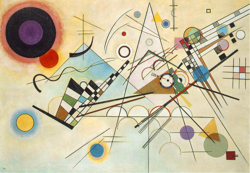 Composition 8, Wassily Kandinsky, 1923