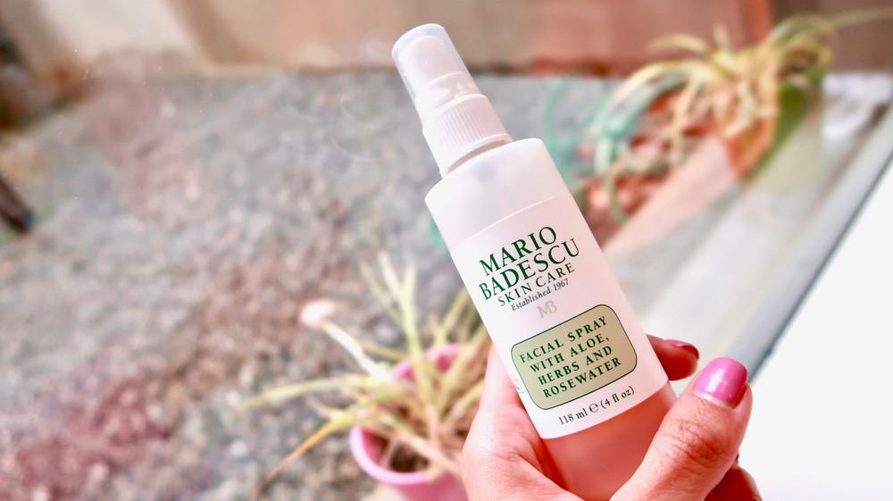 Mario Badescu Rosewater Facial Spray Beauty Review 2019