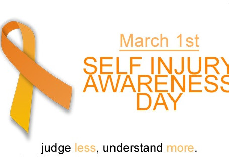 1st March: Self-Injury Awareness Day