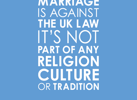 Support for victims of forced marriage & honour based violence