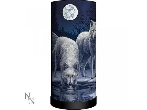 Warriors Of Winter Wolf Lamp