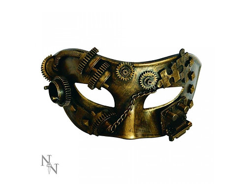 Puzzled Masquerade Steampunk Mask