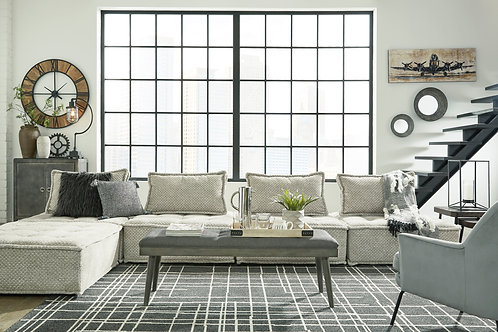Bales Taupe 5-PC Sectional