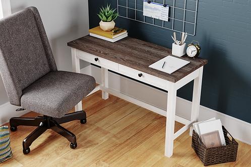 Dorrinson Two-Tone Home Office Desk