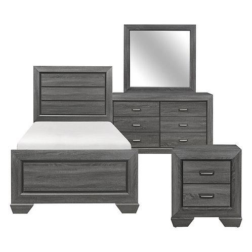 Beechut Dark Gray Youth Bedroom Set