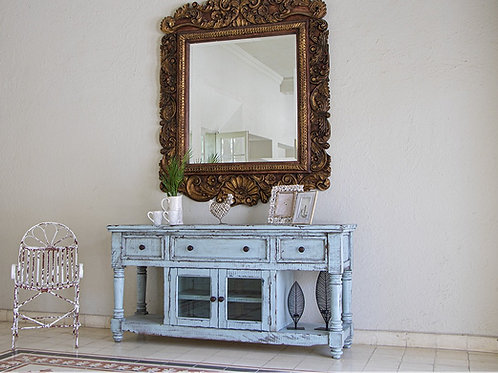 Aruba Sky Blue TV / Sofa Table