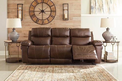 Edmar Chocolate Power Reclining Sofa