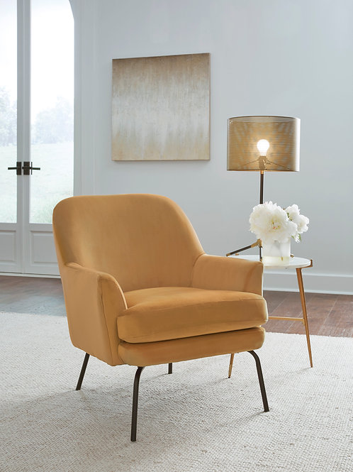 Dericka Gold Accent Chair
