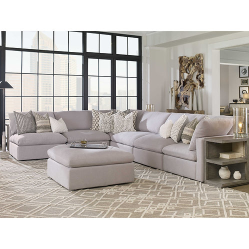 Haven Dove Gray Sectional
