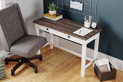 "Dorrinson Two-Tone 47"" Home Office Desk"