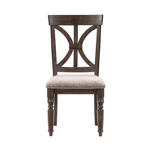 Cardano Dark Brown Side Chair