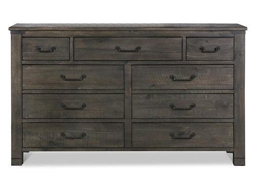 Abington Weathered Charcoal Drawer Dresser