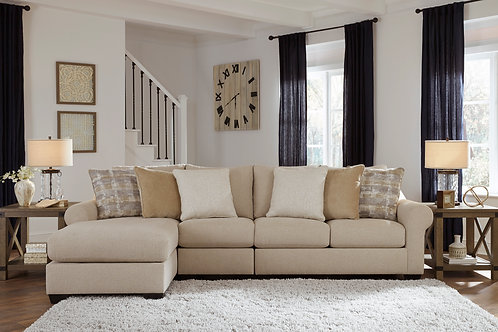 Ingleside 3-PC LSF Sectional Chaise