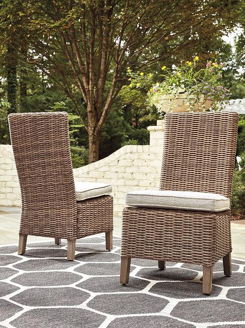 Beachcroft Beige Side Chairs (2)