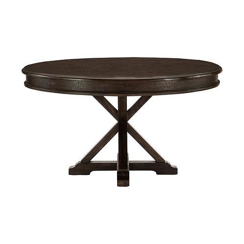 Cardano Dark Brown Round Dining Table