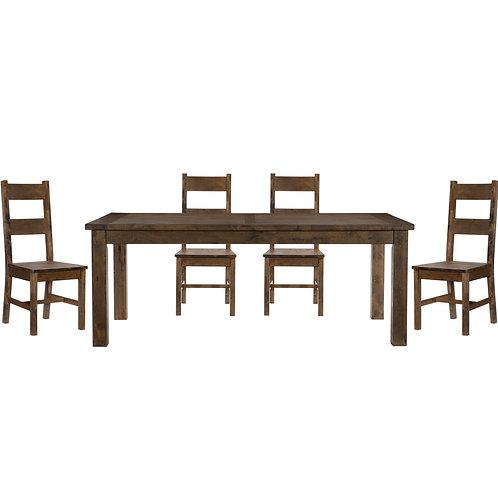 Jerrick Brown 5-PC Dining Set