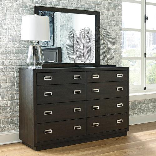 Hyndell Dark Brown Dresser