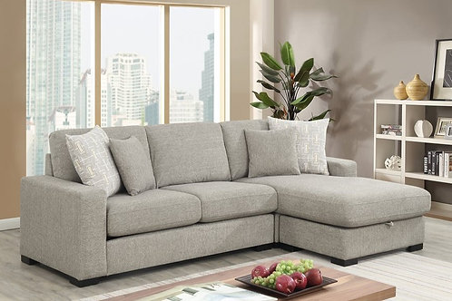 Brahms Grey 2PC Sectional