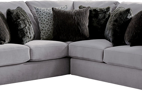 Carlsbad Charcoal 2-PC Sectional