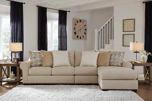 Ingleside 3-PC RSF Sectional Chaise
