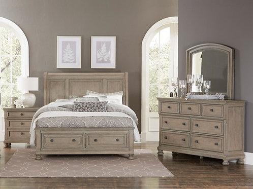 Bethel Gray Queen Storage Bedroom Set