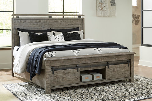 Brennagan Panel Storage Bed w/ Optional Spoiler