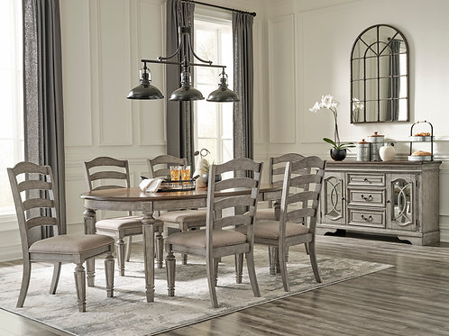 Lodenbay Two-Tone 6-PC Dining Set