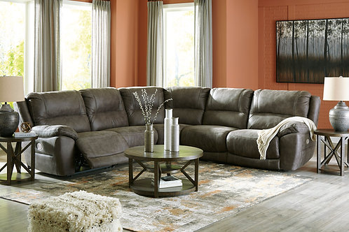 Crandell Quarry 6-PC Reclining Sectional