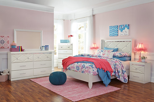 Dreamur Champagne  Youth Bedroom Set