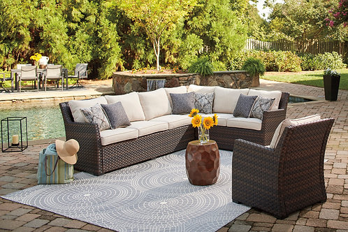 Easy Isle 3-Piece Sectional & Chair