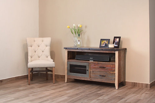 """Antique Solid Pine 52"""" TV Stand"""