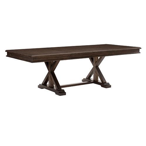 Cardano Dark Brown Extension Dining Table