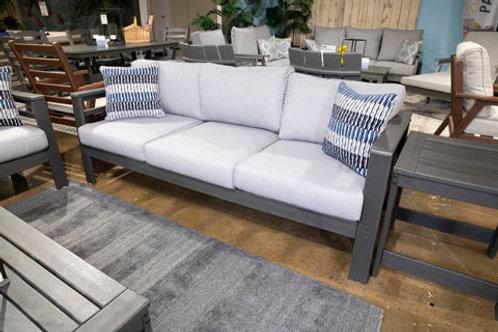 Amora Charcoal Gray Outdoor Sofa