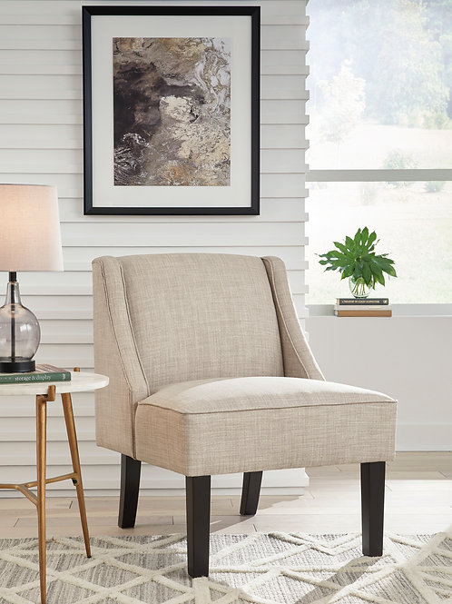 Janesley Beige Accent Chair