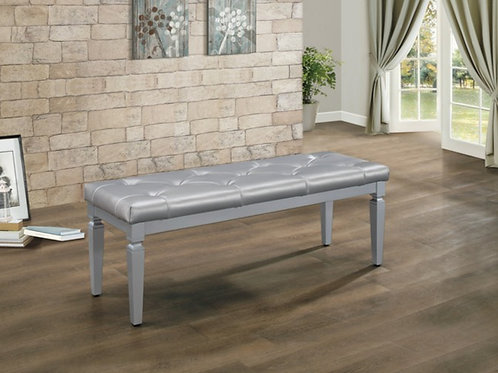 Allura Silver Bench