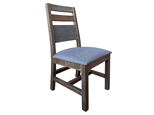 Antique Two-Tone Gray/Brown Chair