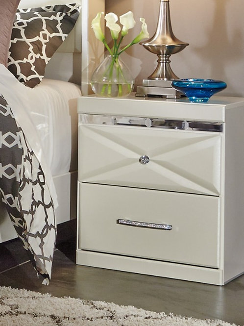 Dreamur Champagne Nightstand