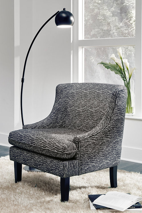 Byrams Black/Cream Accent Chair