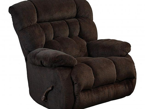 Daly Chaise Chocolate Swivel Glider Recliner